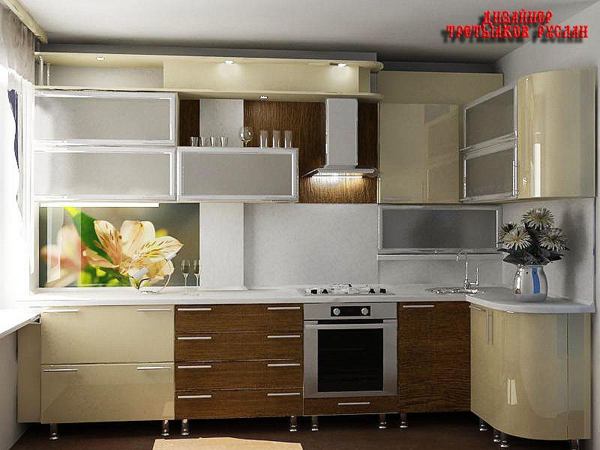 Дизайн кухонь в девятиэтажках