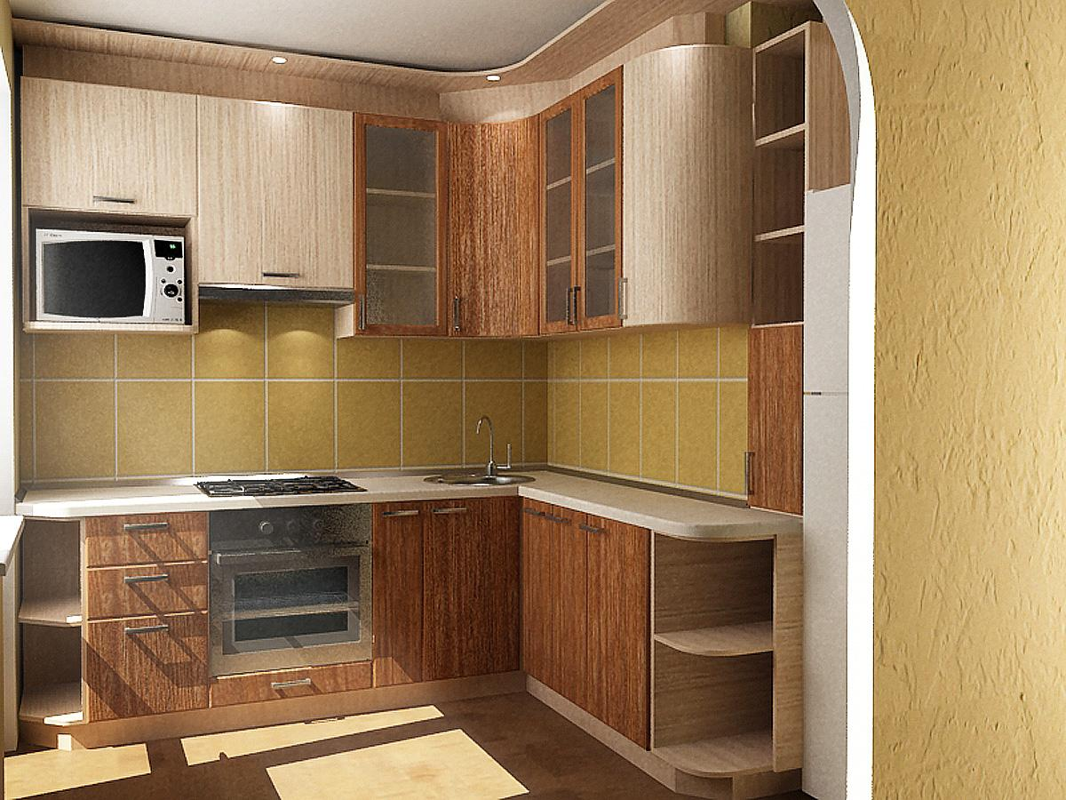 Кухни в панельном доме картинки