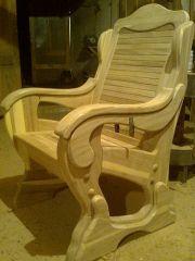 Столы и обеденные зоны из массива вяза