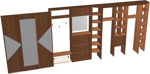 Программа рассчта для производства мебели