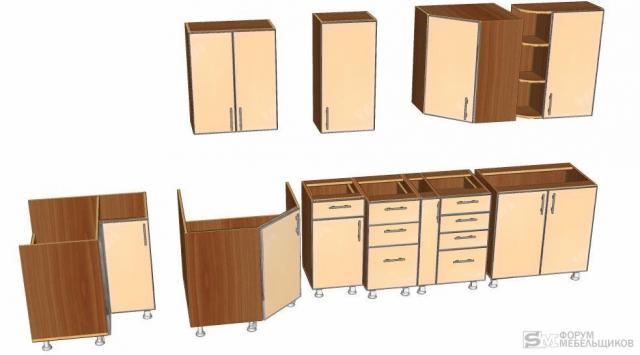 Библиотеку шкафов для астра конструктор