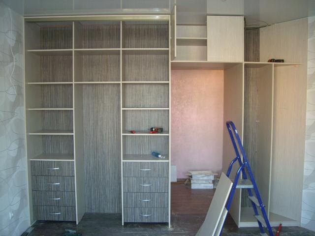 Двусторонний шкаф купе - шкафы-купе - форум мебельщиков.