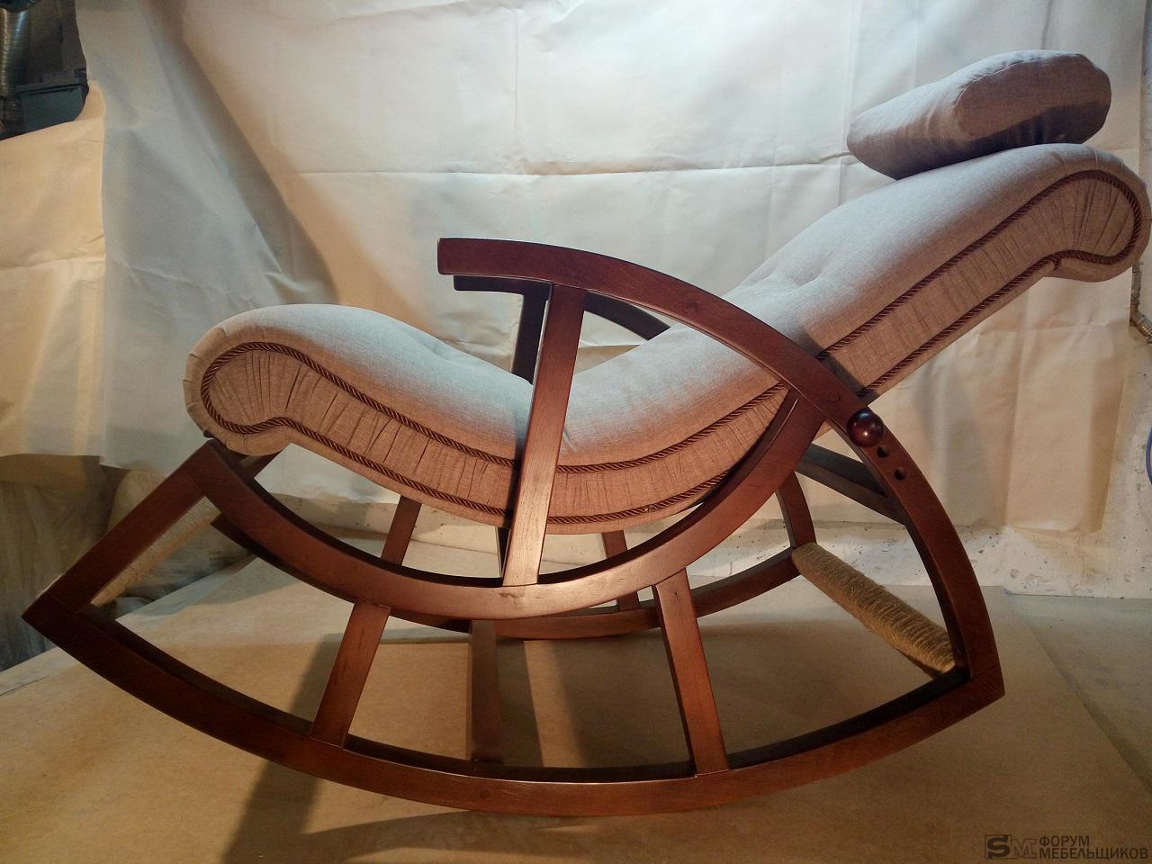 Как сделать кресло-качалка своими рукам 19