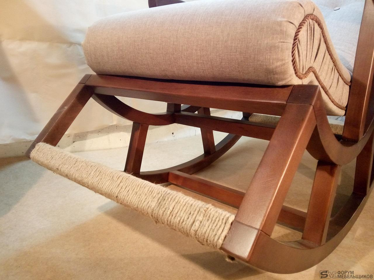 Реставрация кресла качалки