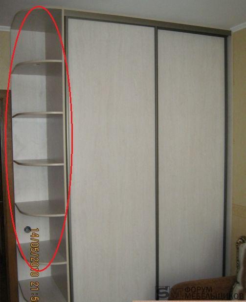 Вкладные или накладные двери шкафа? - дизайн мебели и интерь.